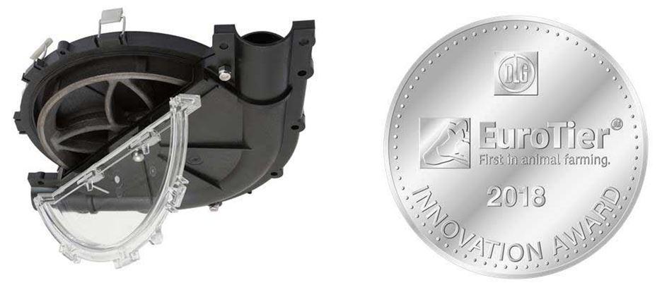 Поворотний кут EZ Clean Corner удостоєно срібної медалі Innovation Award EuroTier 2018